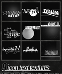Icon Textures 001. by MikoneLOVE