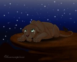 Sad nala by besavampiresa