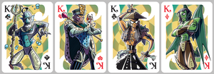 Inkjava Playing Cards [kings] by inkjava
