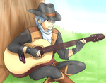 Morning Guitar by Fire-Girl872
