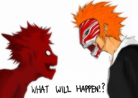 Fan Art: Naruto vs Bleach by athenabeta