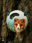fox pendant by AmiNezumi