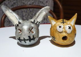 Ceramic Twins by xXVampireDreamerXx