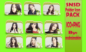 SNSD Folder Icon Pack by SNSDraimakim
