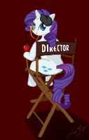 Director Rarity by LaraMagyar