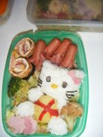 Hello Kitty's bento by WuHara