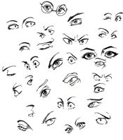 Eyes Doodles by propensity
