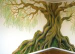 Tree Mural 2 by Lhox
