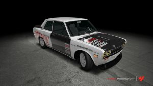 Nissan Datsun 510 1970 Time Attack by OutcastOne