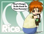 Chibi Rice Says :D by The-Biscuit-Roku