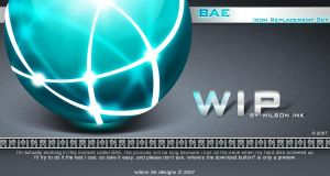 BAE Iconset WIP by wilsoninc