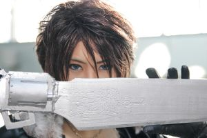 Final Fantasy VIII - Squall by Xeno-Photography
