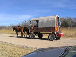Covered wagon 2 by Darkside0326