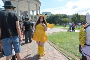 2014 Cosplay Picnic On the Comon, Pretty Pickachu by Miss-Tbones
