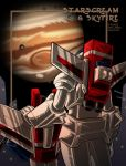 Starscream + Skyfire - Jupiter by WaywardInsecticon