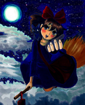 Kiki's Delivery Service by CosmicCherry