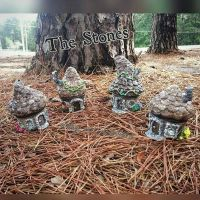The Stones fairy house community is now complete  by ericarayartwork51212
