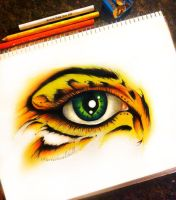 Eye have Courage by artisticalshell