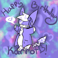Happy Birthday Karrot CX by Spoider