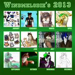 my year 2013 by WindmelodieSoMu