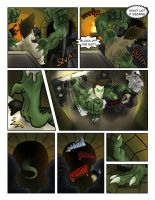 Xenothrope Comic -page 2- by Hewryu