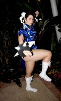 Chun Li Eurobeat King 3 by DustbunnyCosplay
