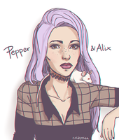 Pepper and Alix by chiryoska