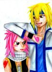 FT: Genderbender- Natsu and Lucy by FuckingCute7