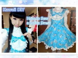 How to sew a kawaii Lolita Dress for School by YumiKing