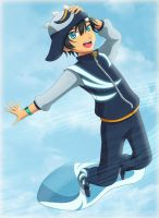 BoBoiBoy Cyclone by ryocutema