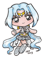 Sailor Ratri Chibi by sakkysa