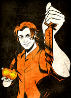 Halloween: Sam Winchester by nupao