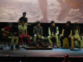 One Direction at Brighton Centre by ChristinaStylinson1D