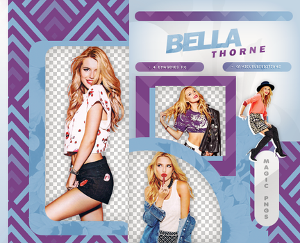 PACK PNG 867|BELLA THORNE by MAGIC-PNGS