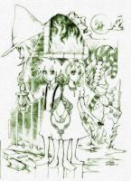 Kagamine - Hansel and Gretel by NSABY