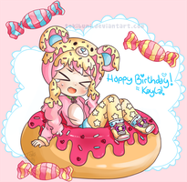 Happy Birthday Keyla! by TokiBuni