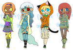 Misc. Adoptables .:closed:. by TwelfthMoon