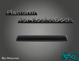 Platform for RocketDock by Heyvoz