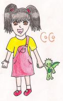R: Coco as a child by Wonelle