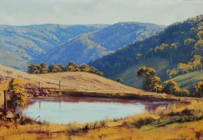 Central Tablelands Landscape by artsaus