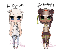 { Custom Adoptable Giveaway! : WINNERS ANNOUNCED } by FloralKittens