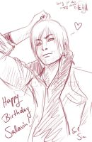 Happy B-day Salavin by Evil-Siren