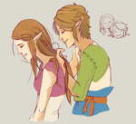 Hair-braidin Zelink by DapperPepper