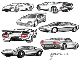 More Lamborghinis :) by camaro1