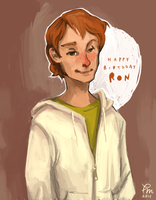 Happy Birthday Roonil Wazlib by flominowa