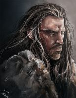 Thorin Oakenshield by Esthiell