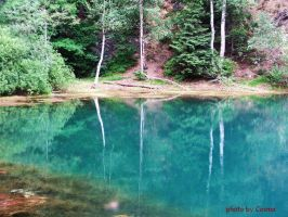 Colored Lakes in Poland by Cosmata
