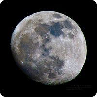 .: Gibbous in Color :. by jon-rista