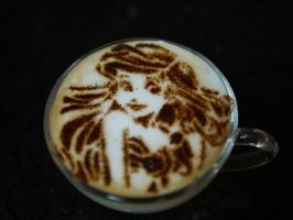 Ariel - Little Mermaid - Latte Art by troskx