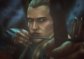Legolas by CheekyRaffy